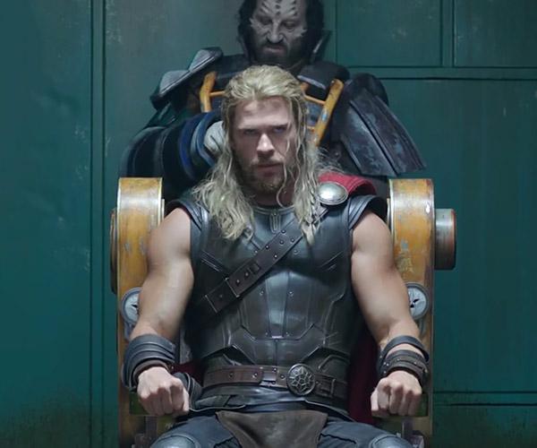 Thor Gets a Haircut