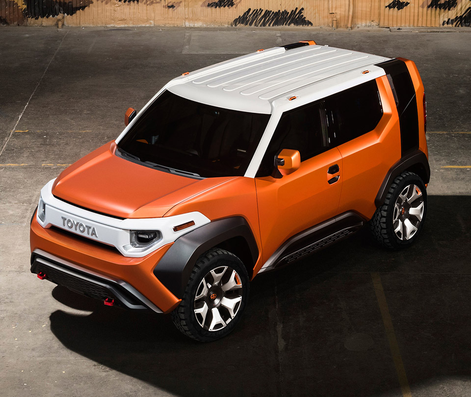 Toyota Ft 4x Concept The Awesomer