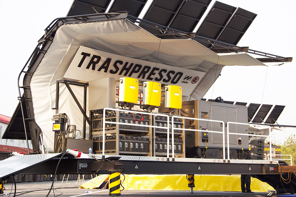 Trashpresso Instant Recycling