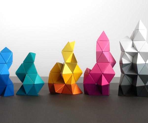 TRIDO Magnetic Building Blocks
