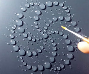 Water Droplet Painting