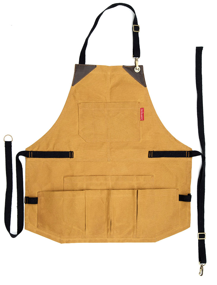 Waxed Canvas Tool Apron