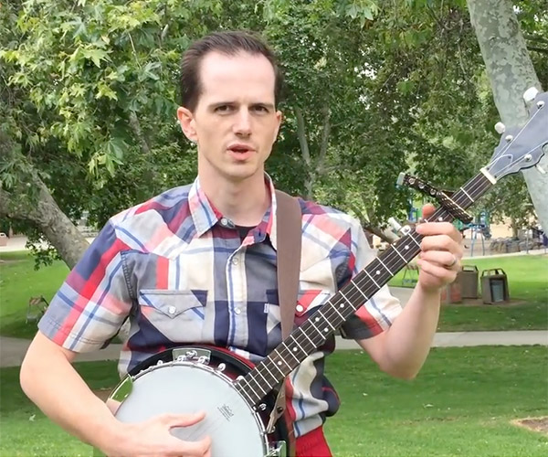World's Fastest Banjo Player