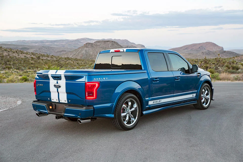 2017 Shelby F 150 Super Snake The Awesomer