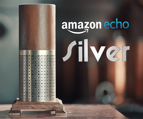 Amazon Echo Silver