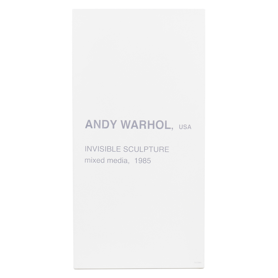Warhol Invisible Sculpture Diorama