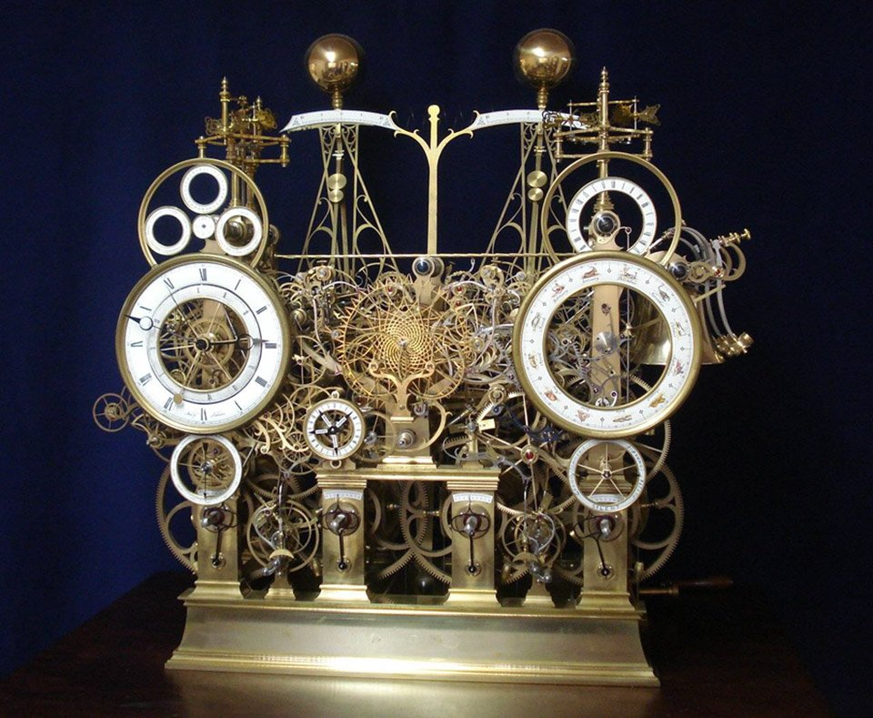 The Astro-Skeleton Clock