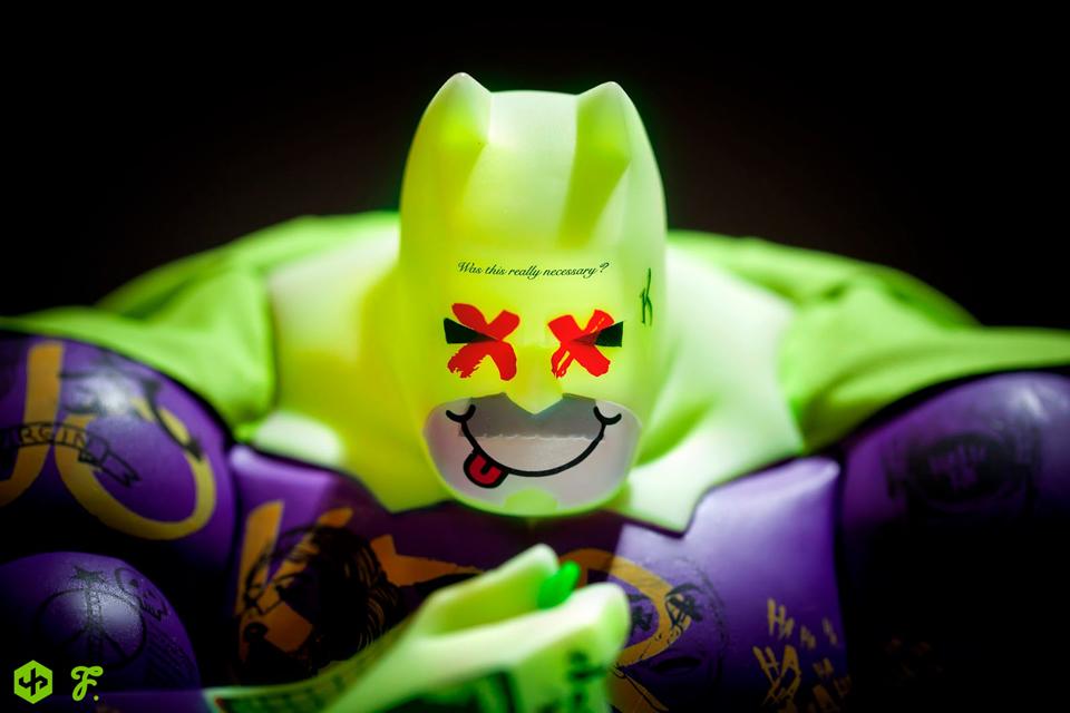 Fools Paradise Bane & Joker Figures