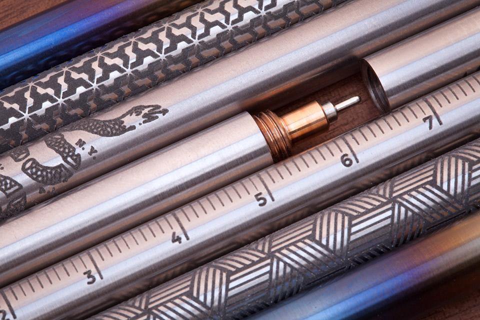 Titanium EDC Ink Pens