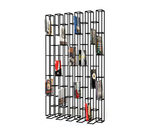 Bricks Book Shelves