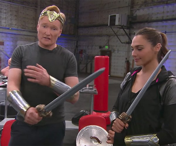 Conan's Wonder Woman Workout