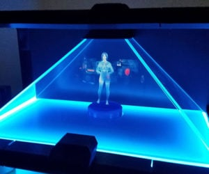 DIY Cortana Holographic AI Assistant