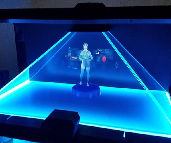 DIY Cortana Holographic AI Assistant