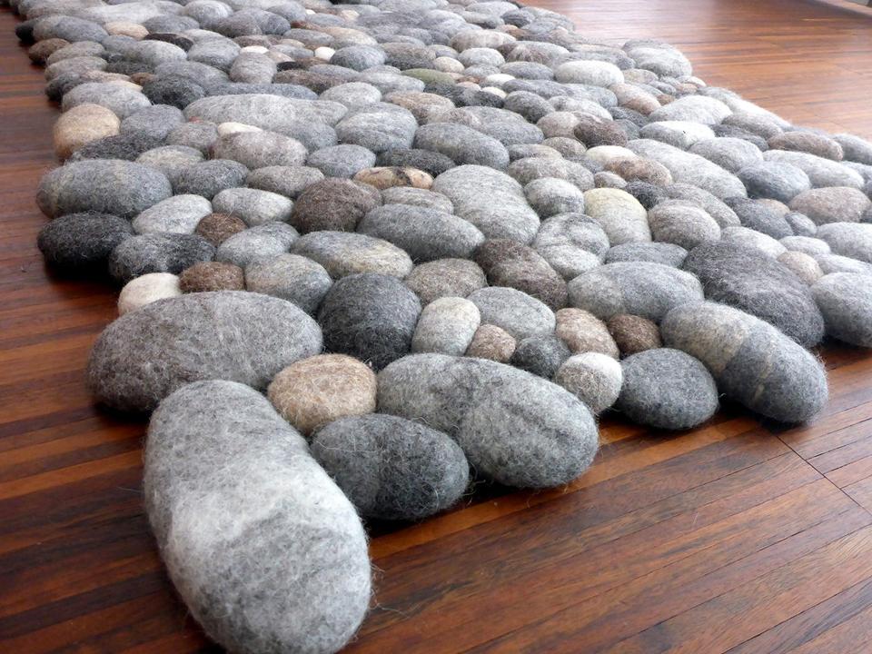 Felt Stone Rugs