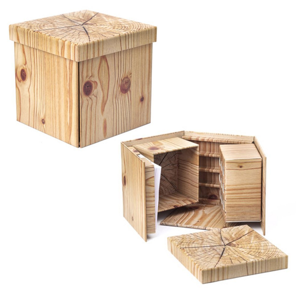 Fold-out Stationery Box