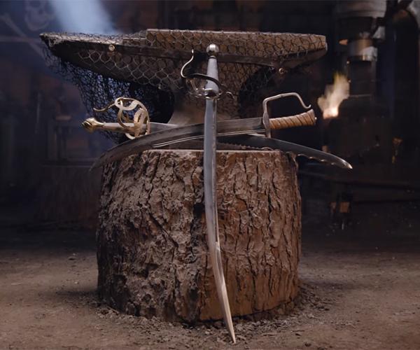 Forging the Pirate's Cutlass
