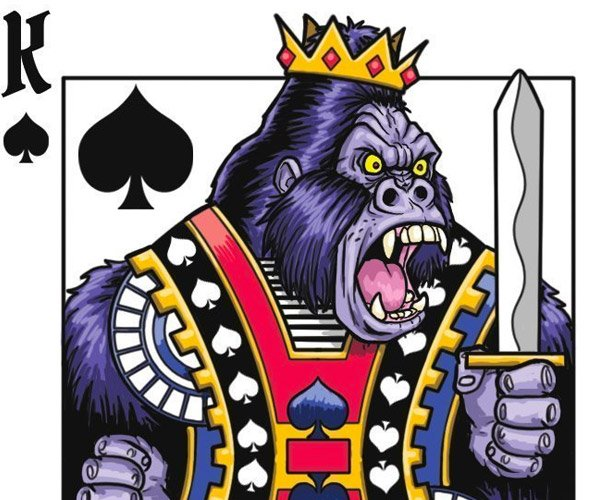 Gorilla Deck Playing Cards