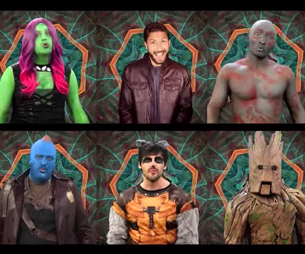 Guardians of the Galaxy 2: A Capella