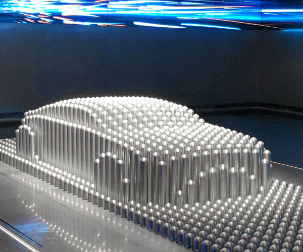 Hyundai Kinetic Sculpture