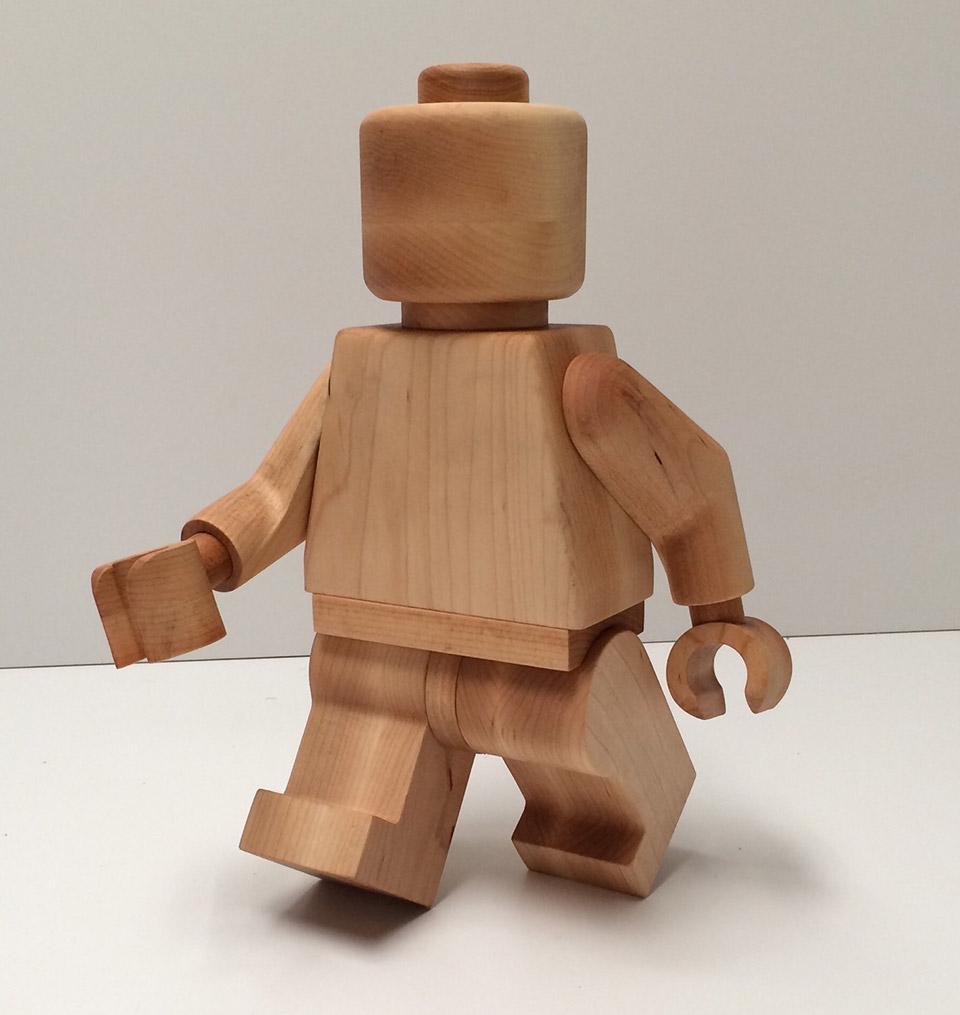 Jumbo LEGO Man Figures