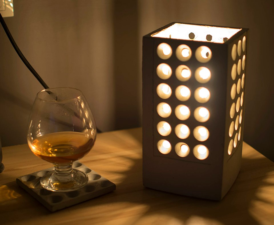 KucoDesign Concrete Lamp