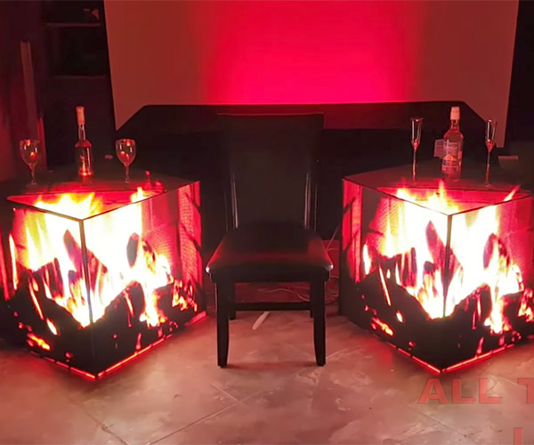LED Side Tables