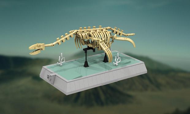 LEGO Dinosaur Skeletons