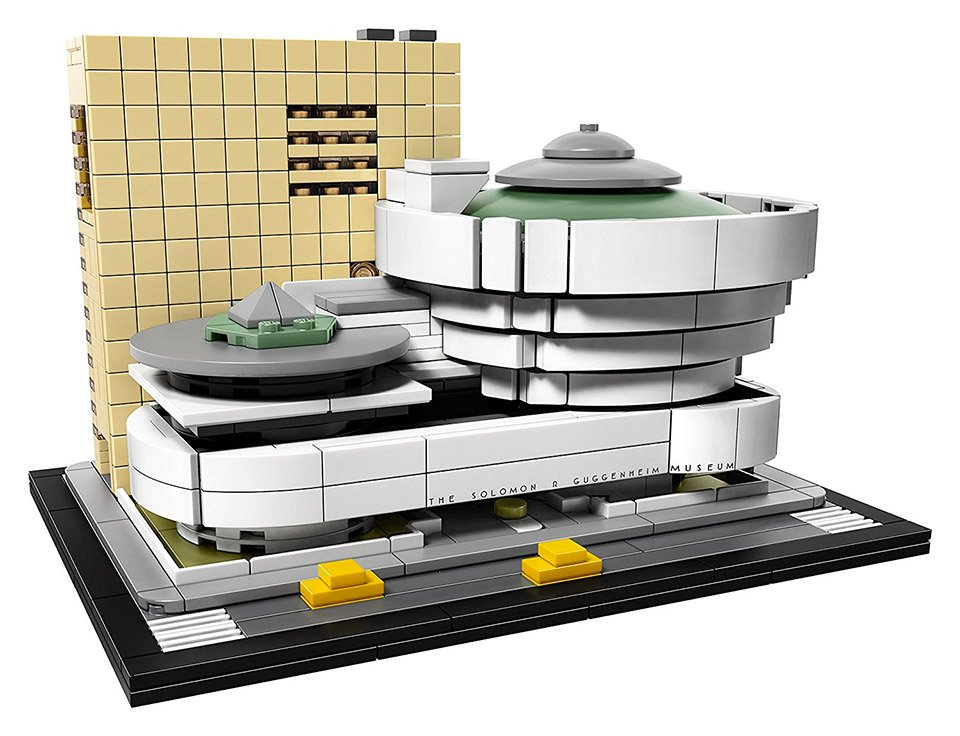 lego guggenheim museum the awesomer. Black Bedroom Furniture Sets. Home Design Ideas