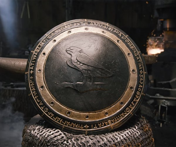 Making Wonder Woman's Shield
