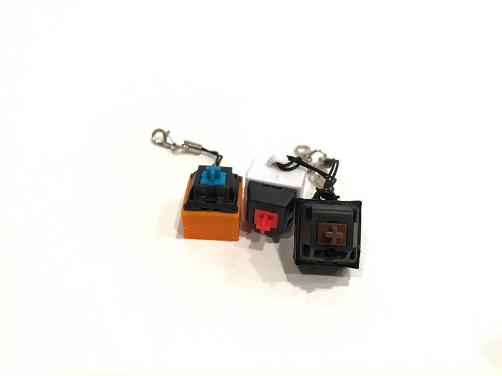 Mechanical Keys Fidget Toys