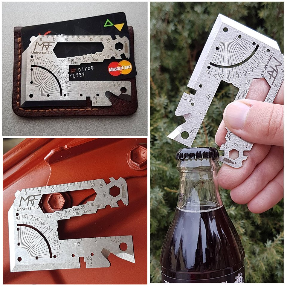 MRF Credit Card Multitool