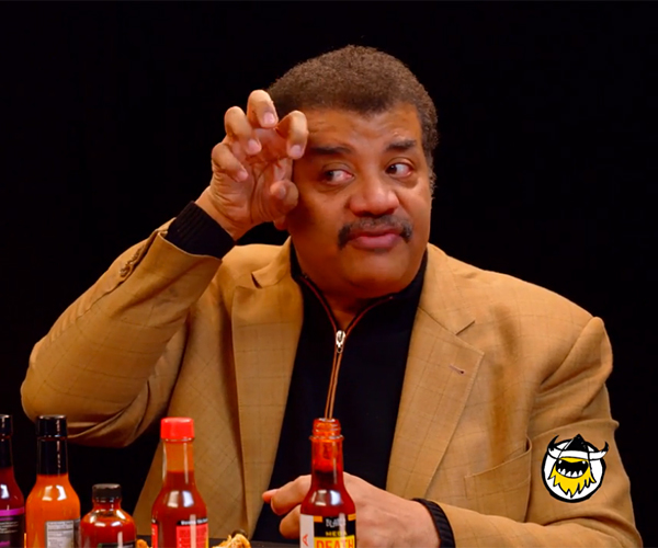 Neil deGrasse Tyson vs. Hot Wings