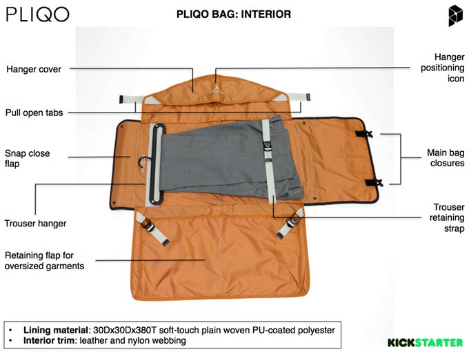 Pliqo Carry-on Garment Bag