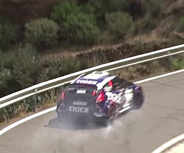 Rally Race Close Call
