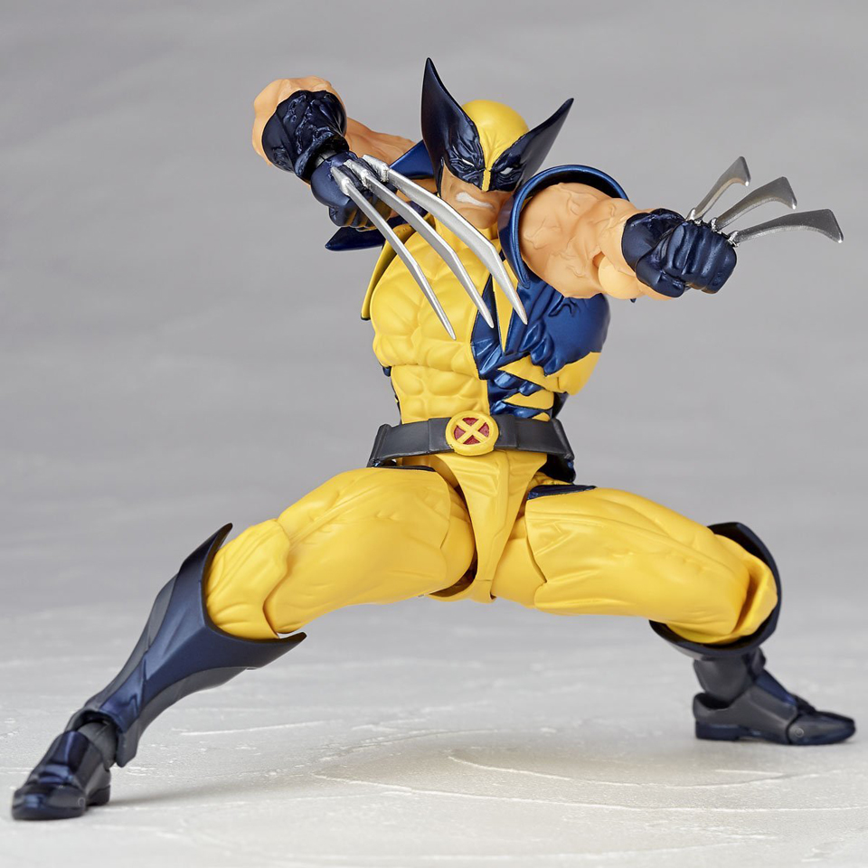Revoltech Wolverine Action Figure