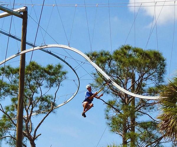 Rollercoaster Zipline