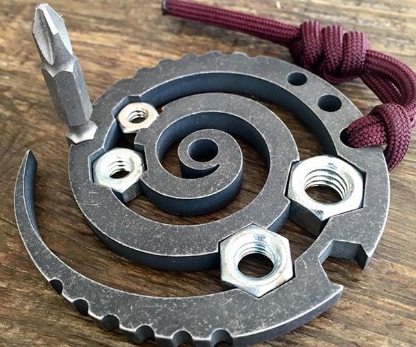 Spiral Maelstrom EDC Tool