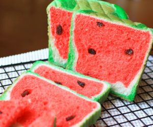 Making Watermelon Bread
