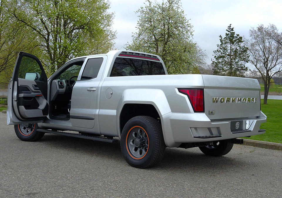 Workhorse W-15 Electric Pickup