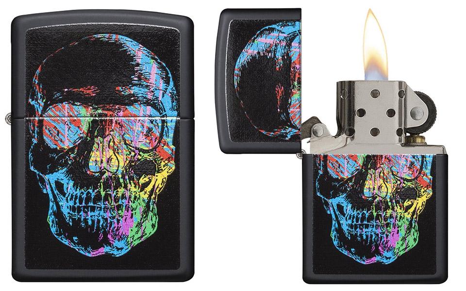 Zippo Skull Lighters