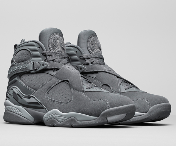 Air Jordan 8 Cool Grey & Cement