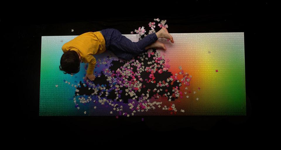 5,000 Colors Puzzle