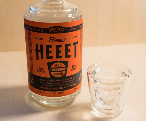 Blazing HEEET Cinnamon Vodka