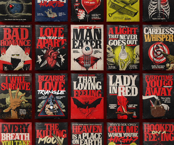 Stephen King's Stranger Love Songs