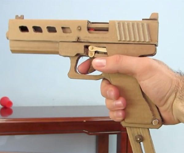 DIY Cardboard Glock