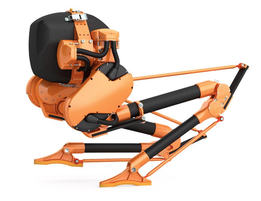 Cassie The Ostrich Robot