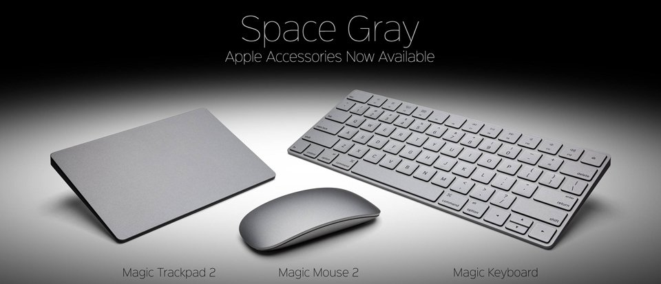 ColorWare Space Gray Apple Gadgets