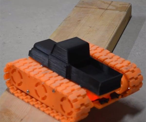DIY 3D Printed Tank