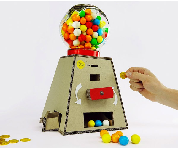DIY Gumball Vending Machine