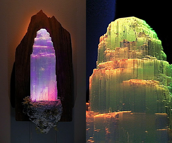 DIY Crystal Tower Light